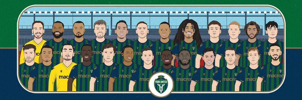 york united squad